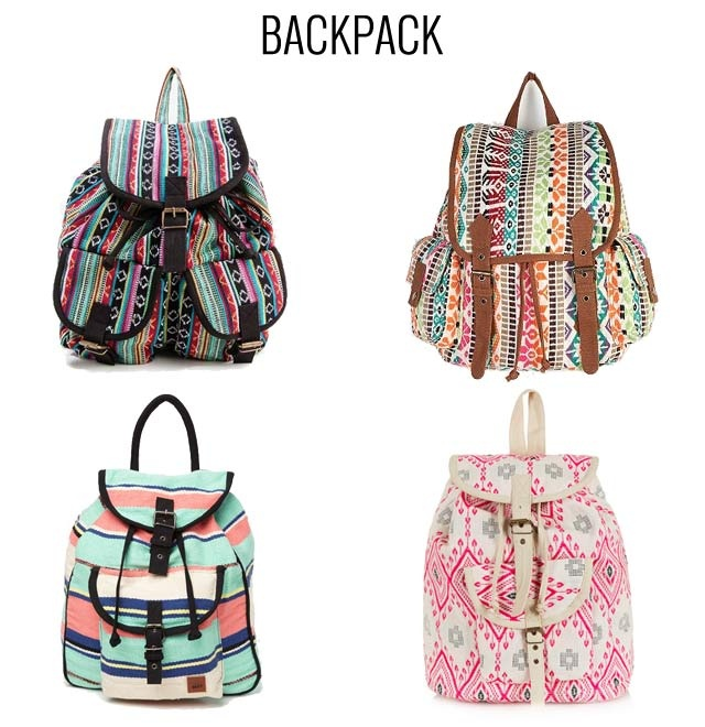 Here are some cool backpacks we think are perfect for the beach this summer.