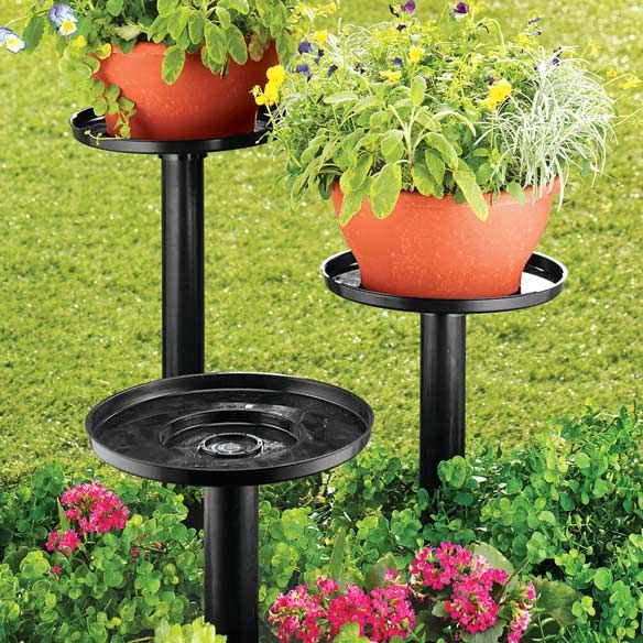 Outdoor Plant Stand T Ideas Pinterest