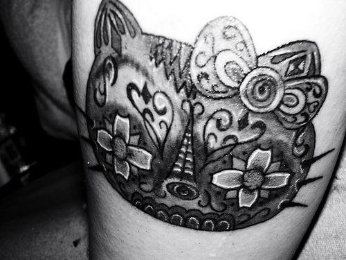 love! hello kitty dotd tattoo