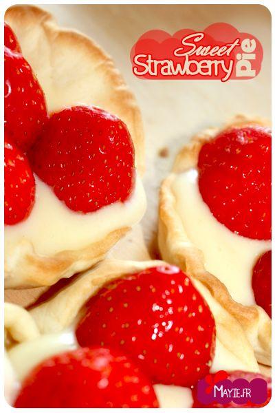 Sweet Strawberry Pie | Mmmmmmm | Pinterest
