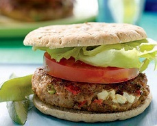 South Beach Diet Recipes - Inside-Out Cheeseburgers