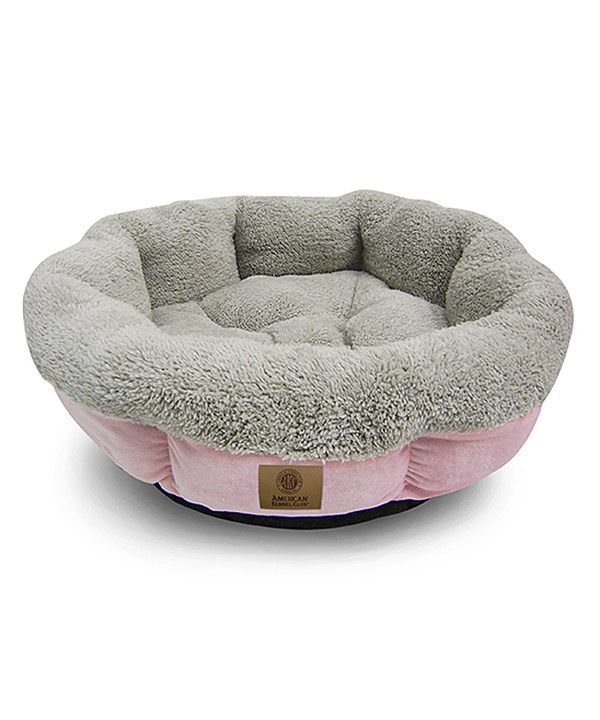 Another great find on zulily pink round cuddler pet bed by american