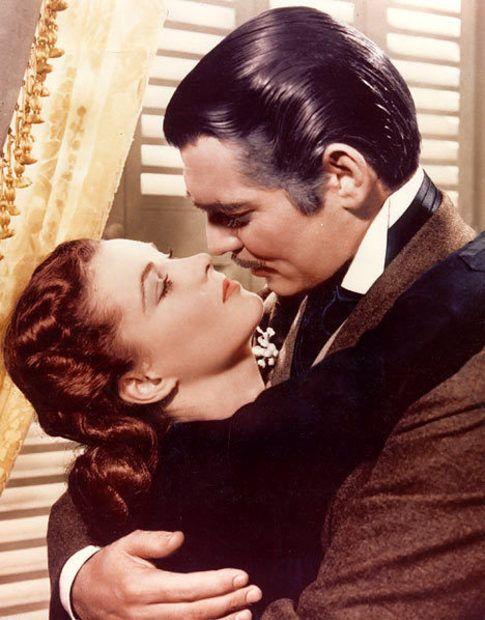 Scarlett o 39 hara and rhett butler gone with the wind for Who played scarlett in gone with the wind