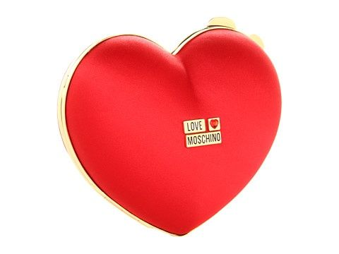 www.weddbook.com everything about wedding ♥ Christmas, Wedding or Valentine's Day Evening Bags #wedding #christmas #red #heart #Moschino #fashion #bag