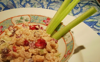 """Cranberry Walnut """"Chicken"""" Salad   Things to eat   Pinterest"""