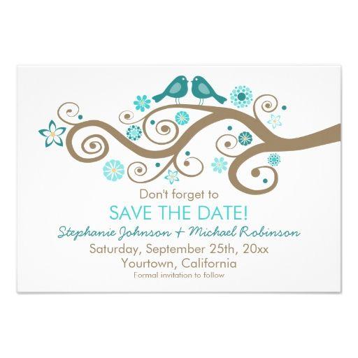 Birds Wedding Invitations for adorable invitation layout