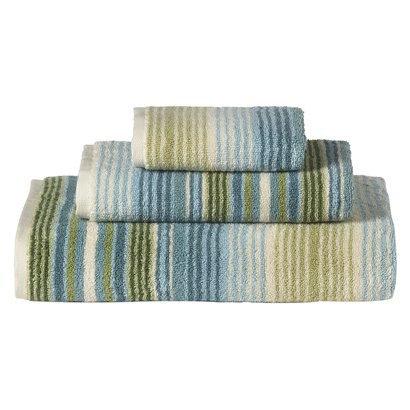 target bath towels stripe blue green home pinterest. Black Bedroom Furniture Sets. Home Design Ideas