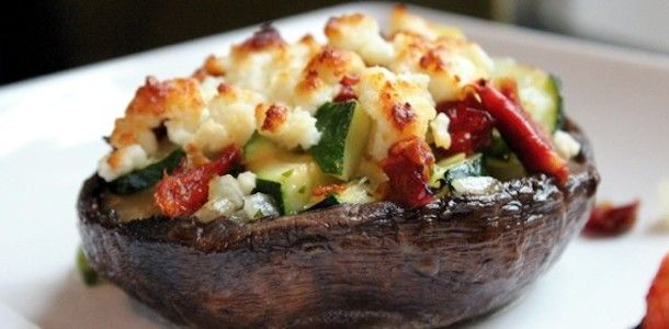 Grilled Portobello Mushrooms | NOT MEAT ! | Pinterest