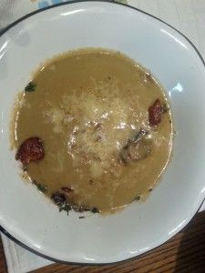 Cream of Mushroom and Farro Soup | delicious food | Pinterest