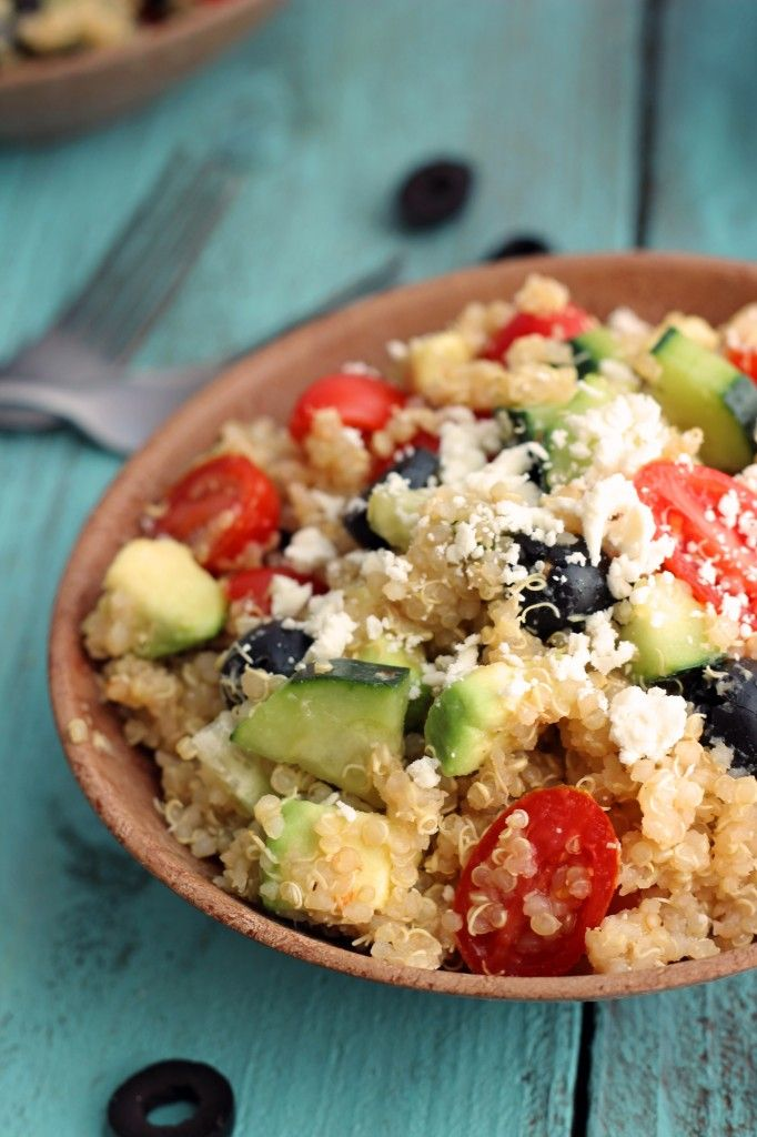 Greek Quinoa Salad Recipe — Dishmaps