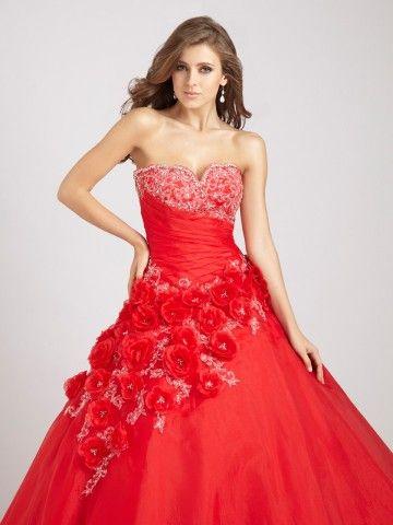 Formal Dress on Flowers   Formal Dresses