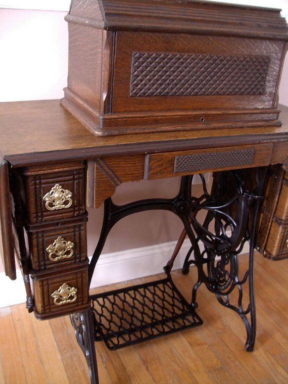 singer treadle sewing machine cabinet