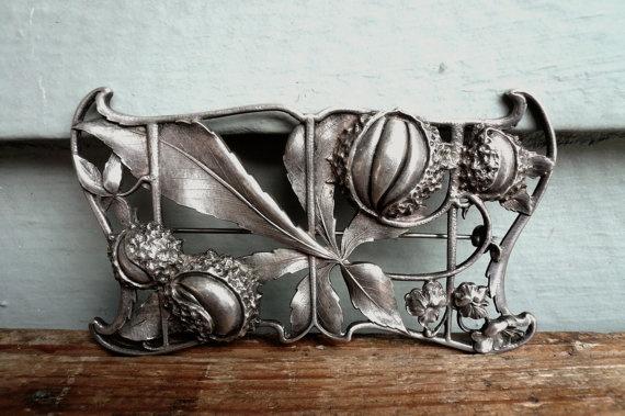 Antique Art Nouveau Brooch by Gorham