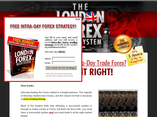A.W. forex foreign exchange system - day trading system