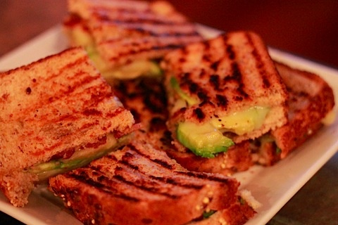 Bacon and Avocado Grilled Cheese | Creative Pizzas, Flat Breads, Pani ...