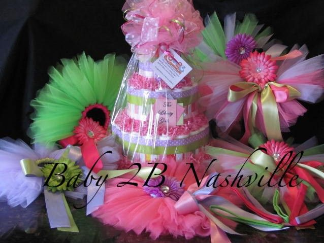 Tutu Baby Shower Decorations 638 x 479
