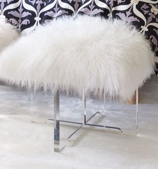 stool for dressing room | At Home | Pinterest