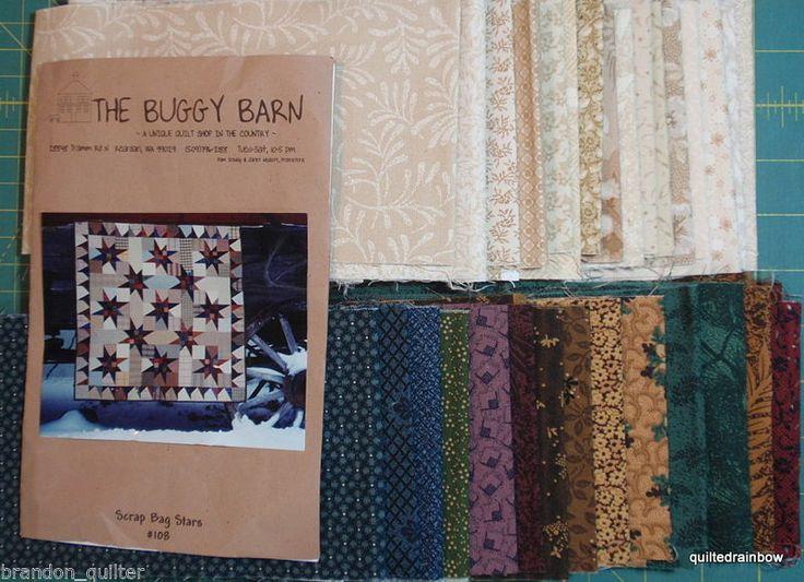 The Buggy Barn Quilt Kit Scrap Bag Stars Free Shipping | eBay