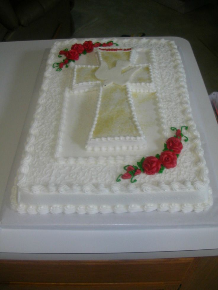 Confirmation Cake Catholic Pinterest