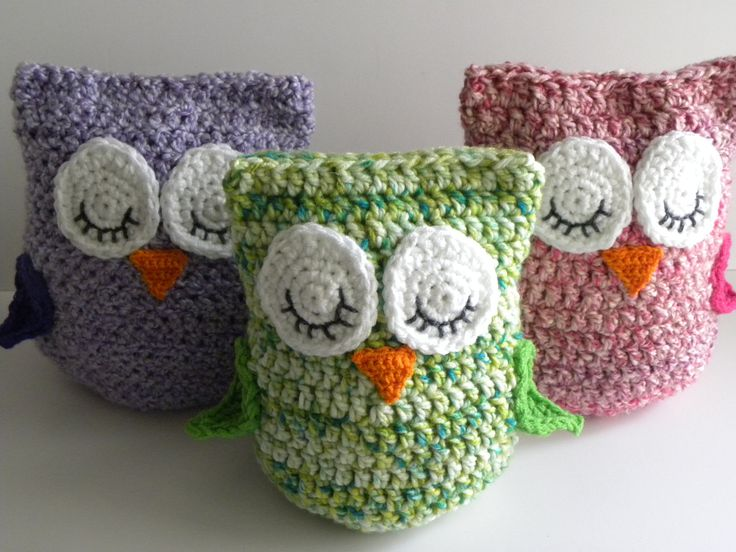 Free Crochet Pattern For An Owl Pillow Dancox For