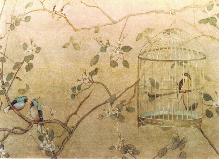 Chinoiserie murals chinoiserie2 chinoiserie pinterest for Chinoiserie mural wallpaper