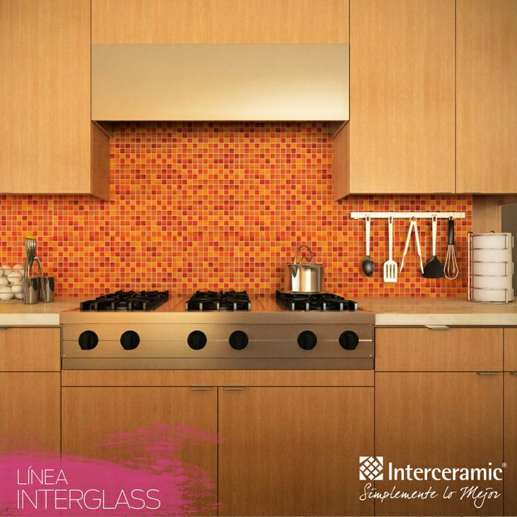 Cenefas para cocina de interceramic for Tapar azulejos cocina