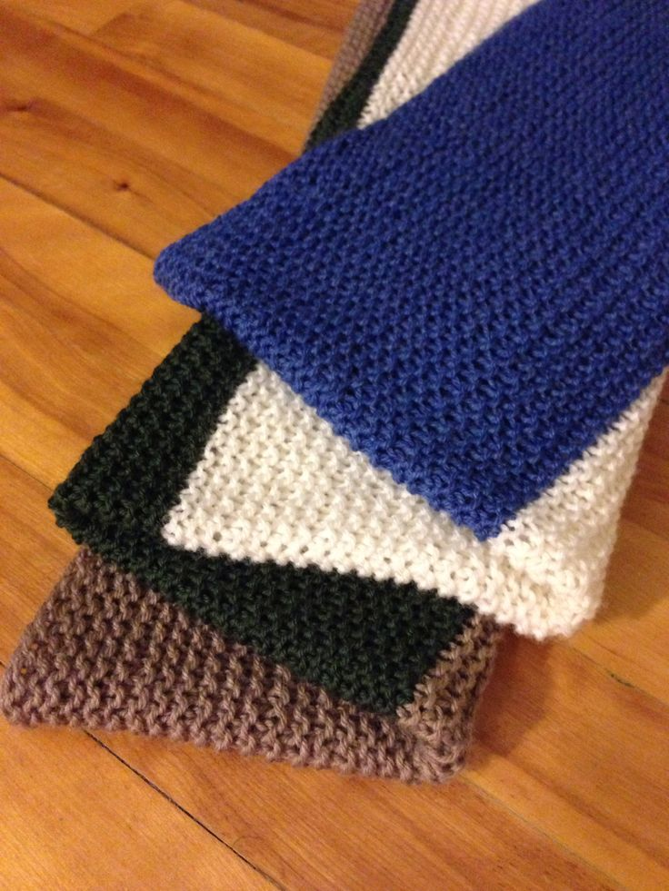 Knitting Baby Blankets Garter Stitch : Pin by Kristina Jelinek on What Ive Made Pinterest
