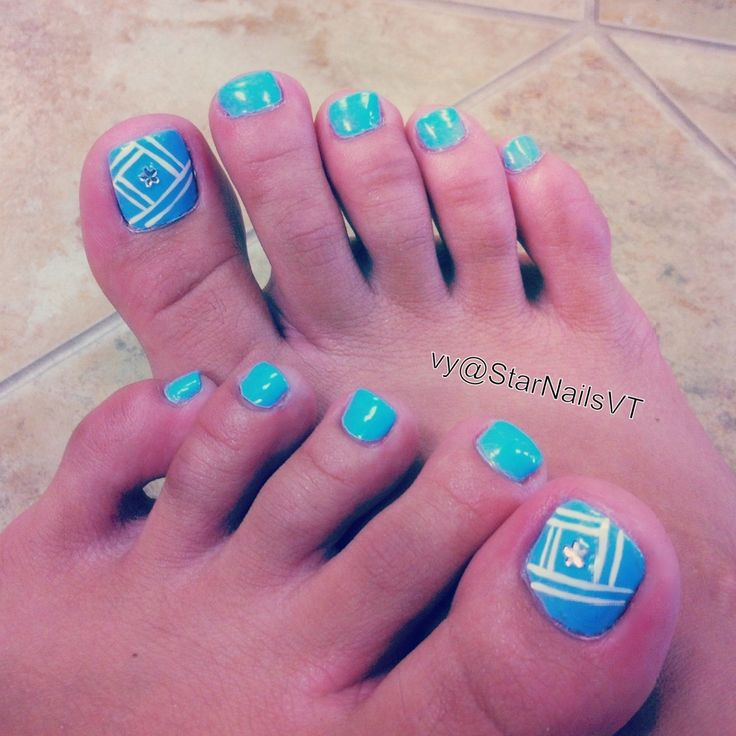 Toe Nail Designs Easy slyburycom