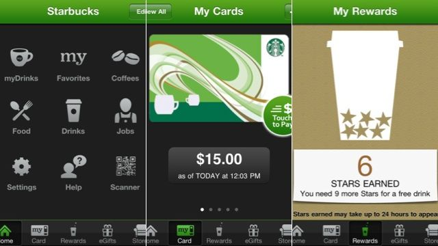 how to order at starbucks app