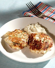 Lemon-Parsley Fish Cakes | Recipe