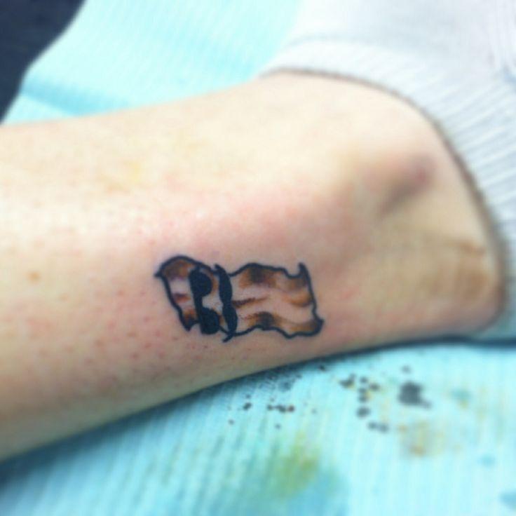 Bacon Tattoo Bff Smalltattoo  Tattoos&amppiercings Pinterest