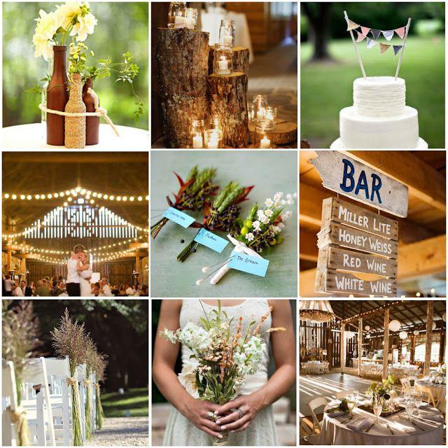 Farm Wedding Idea Board