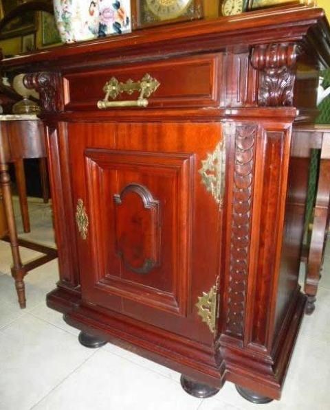 Mueble auxiliar de caoba muebles antiguos pinterest - Muebles de caoba antiguos ...