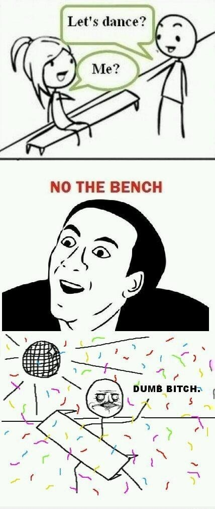 Dancing With The Bench