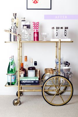 bar cart - Google Search magiccitythistle.blogspot.com