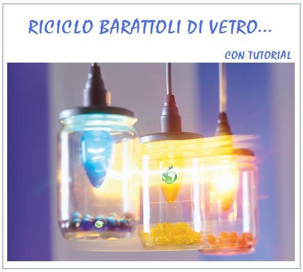 lampadari di vetro : barattoli di vetro/lampadari FRITTO MISTO Pinterest