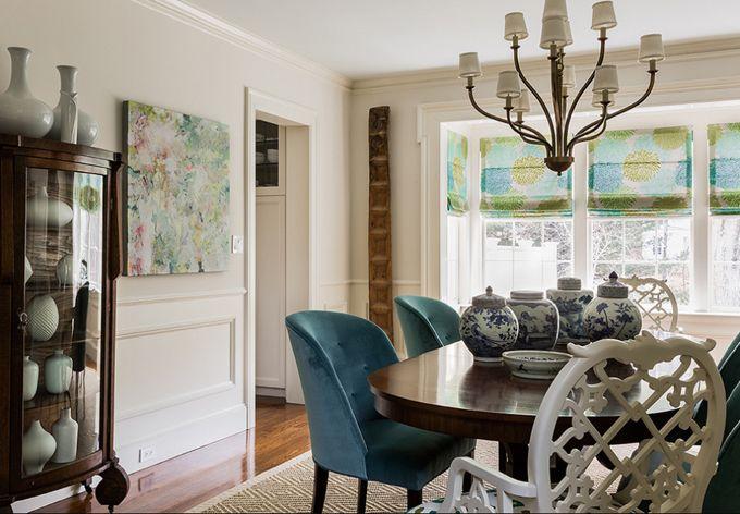 dining room | Katie Rosenfeld Design