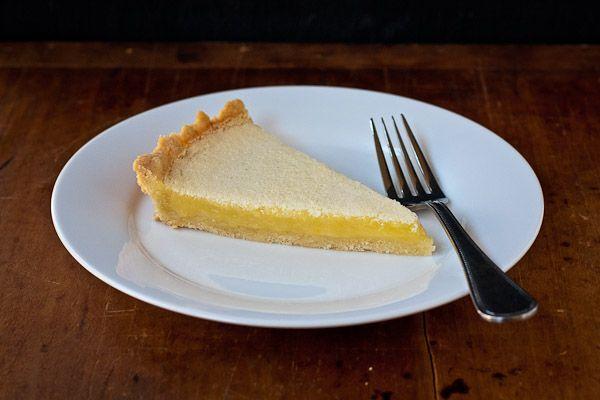 Tangerine And Almond Shortbread Tart Recipe — Dishmaps
