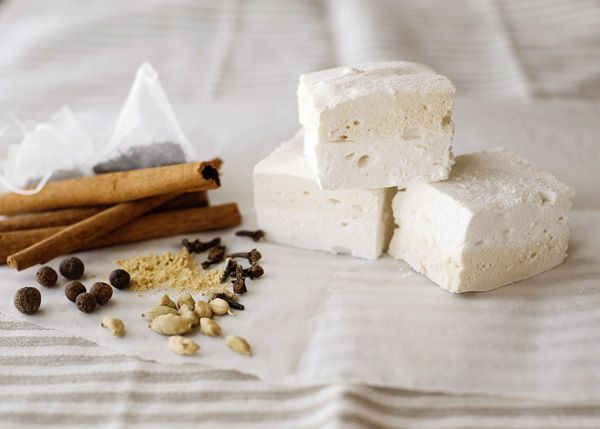 Chai Latte Marshmallows - homemade by BAKEDBREE!