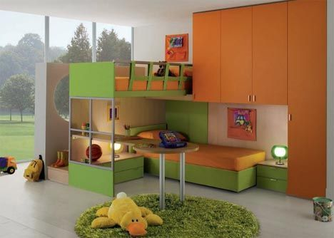 Modular kids bedroom furniture madison 39 s page pinterest Mobile home bedroom furniture