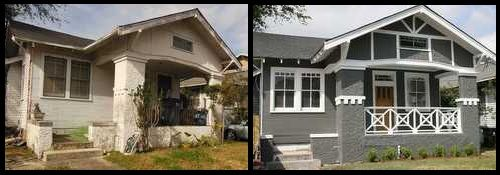 Before and after real estate investments pinterest for House flips before and after