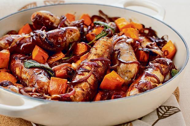Sausage and sweet potato hash