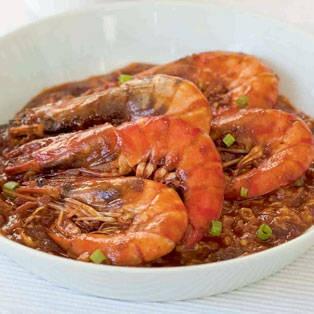 Singaporean-style Chili Prawns   Food Love   Pinterest