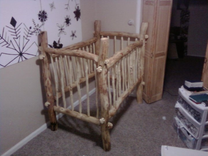 log furniture baby crib baby ideas pinterest