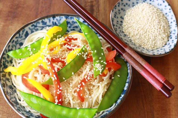 healthy, simple Sesame Noodles   Season with Spice