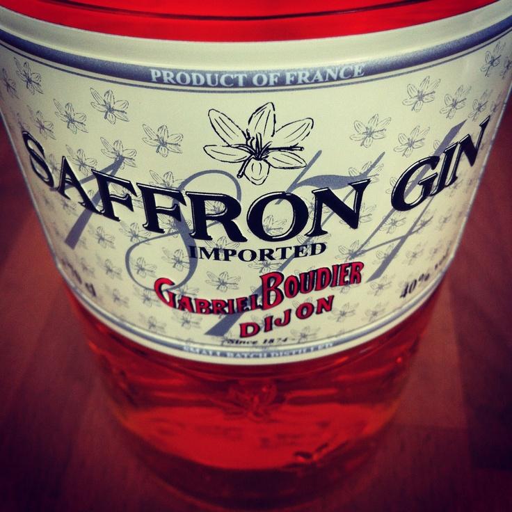 Saffron Gin from France | [ great spirits ] | Pinterest