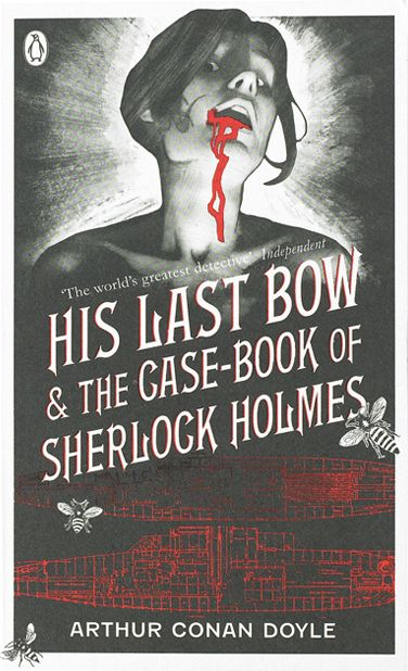 Penguin Sherlock Holmes series designed by Coralie Bickford-Smith
