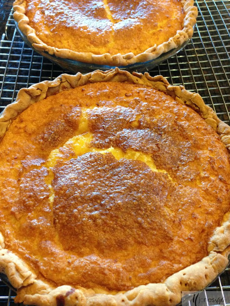 Buttermilk Lemon Chess Pie | Foods I want to eat! | Pinterest