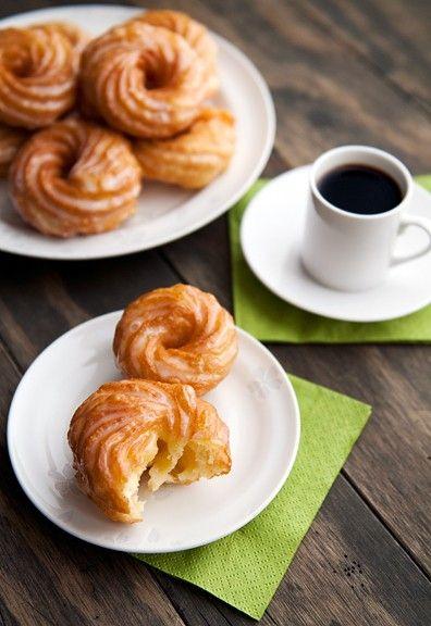French Cruller Doughnuts Recipe — Dishmaps