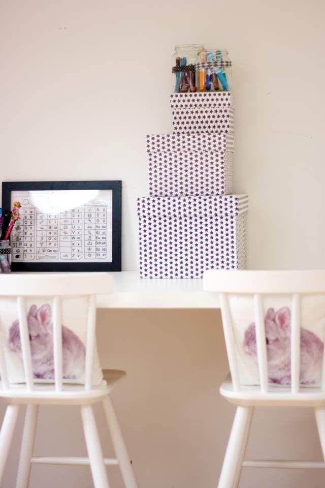 Kitchen Island With Drawers Ikea ~ Ein DIY Schreibtisch für Kinder von Ikea  Butterzart  Pinterest